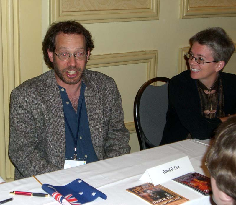 World Fantasy Convention 2006, Friday, book signing: DC and LC