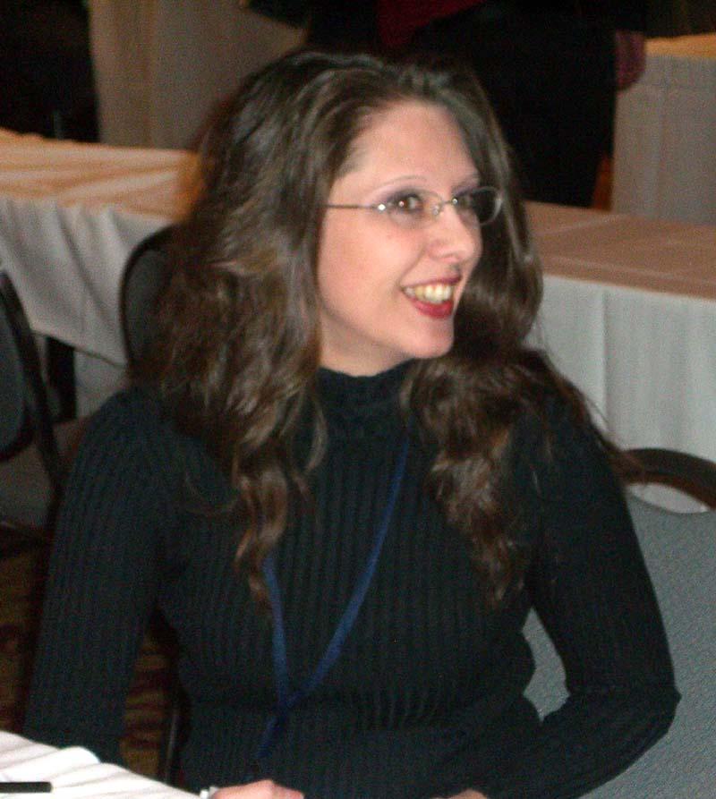 World Fantasy Convention 2006, Friday, book signing: AH