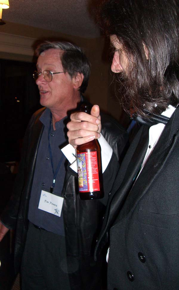 World Fantasy Convention 2006, Friday: Tim Powers and Hal Duncan
