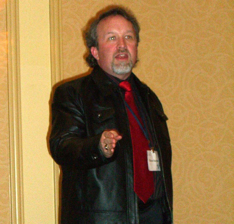 The God or The Machine panel at the World Fantasy Convention 2006: Michael Stackpole