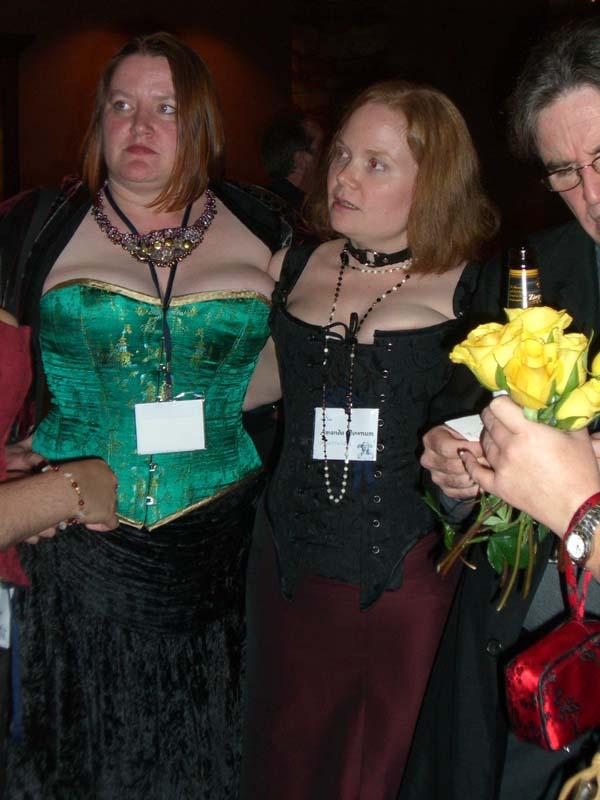 World Fantasy Convention 2006, Saturday: Elizabeth Bear and Amanda Downum