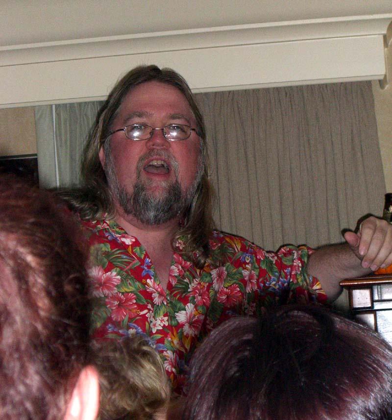 World Fantasy Convention 2006, Saturday: Jay Lake
