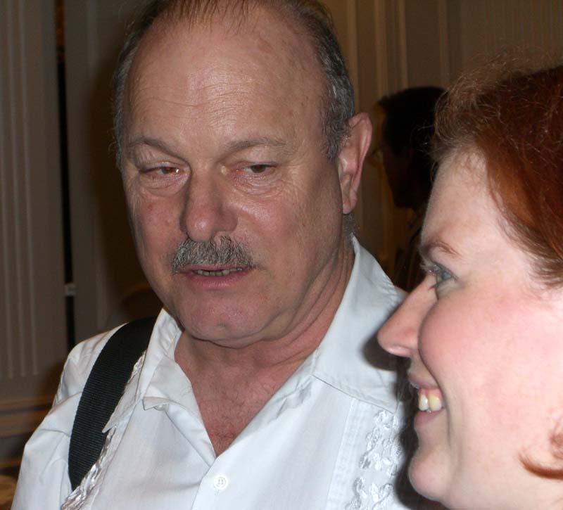 World Fantasy Convention 2006: Joe Haldeman in the audience