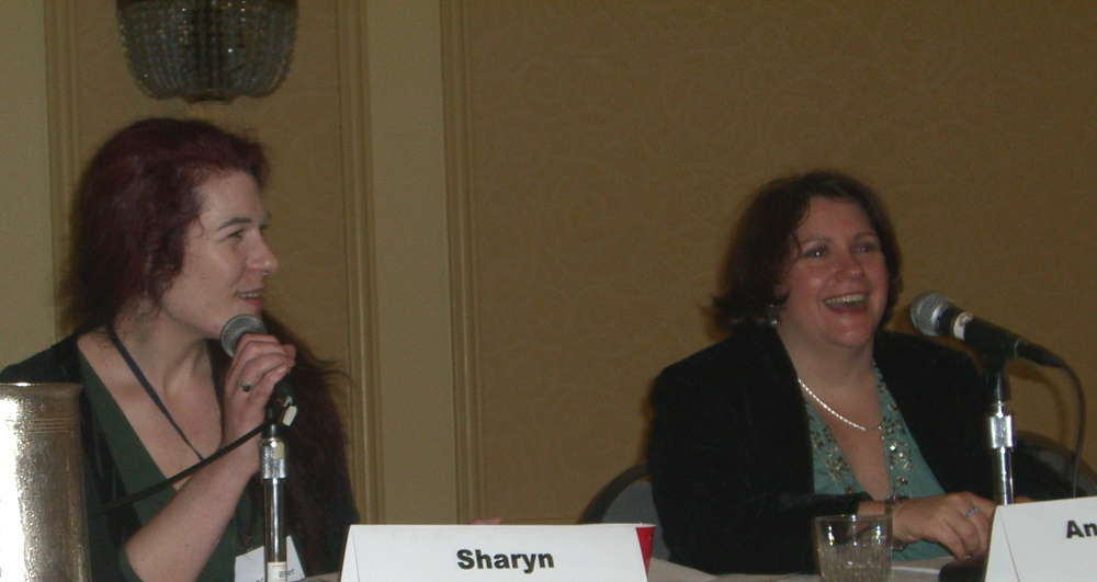World Fantasy Convention 2006, Explain This Book panel: Sharyn November and Anne Groell
