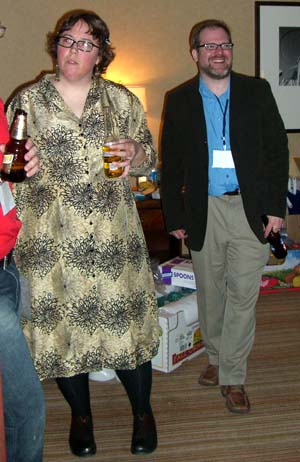 Kelly Link at the World Fantasy Convention 2006