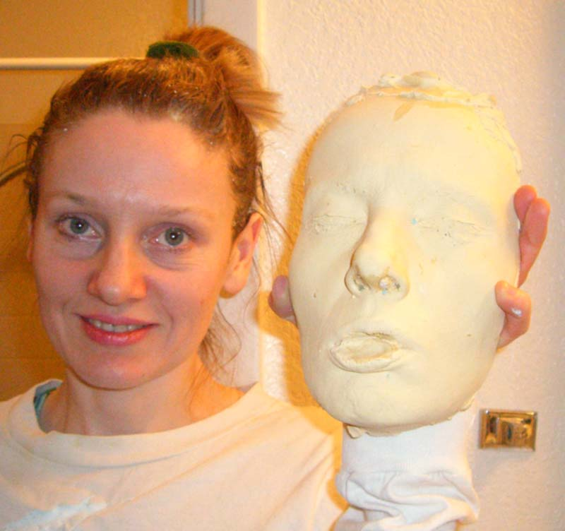 Me and my face cast: do we look alike?