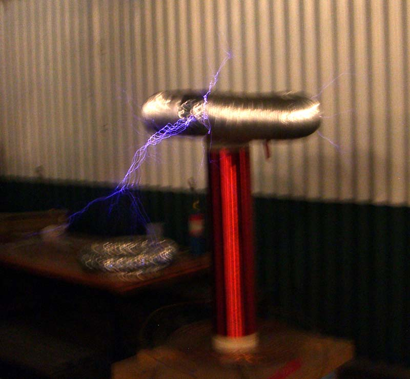 Tesla Coil at the Futures Past steampunk party at SXSW