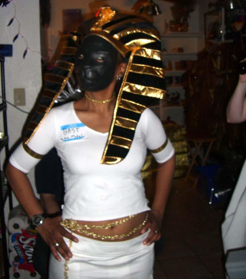M as Egyptian goddess Bast