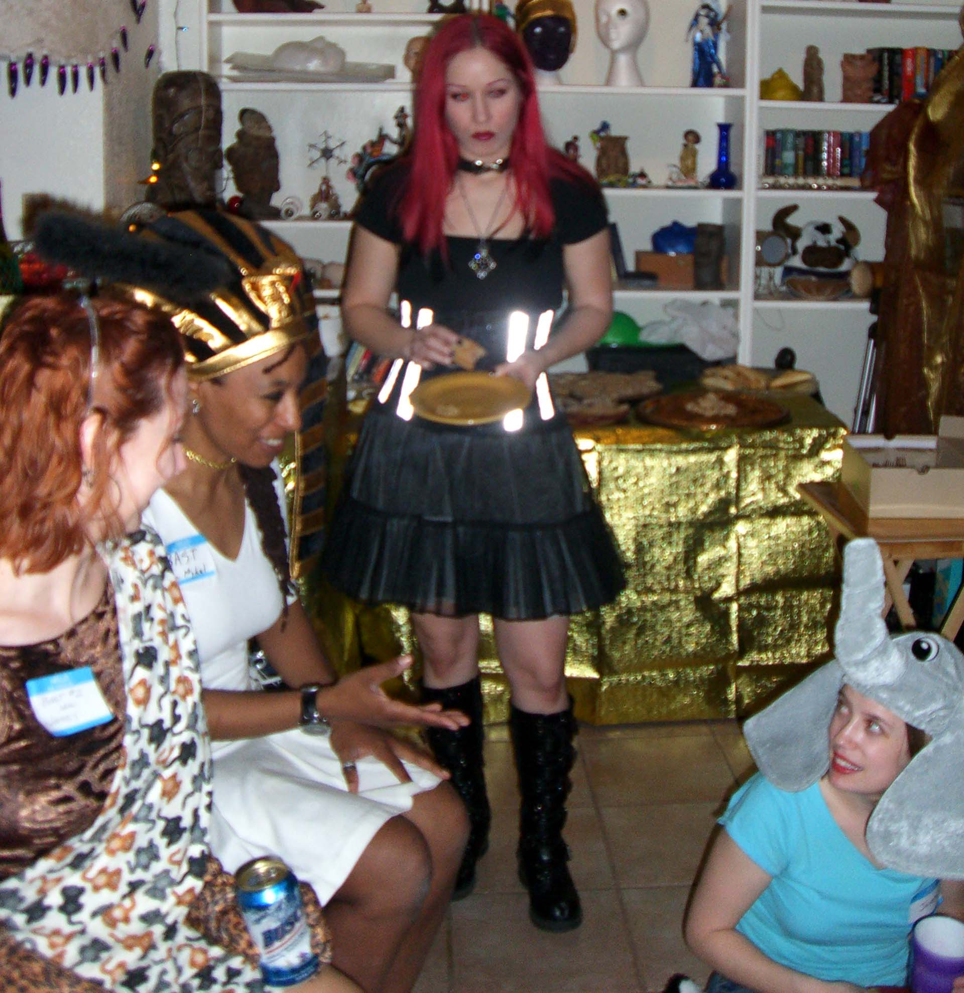 Second annual Ye Gods party, 2007