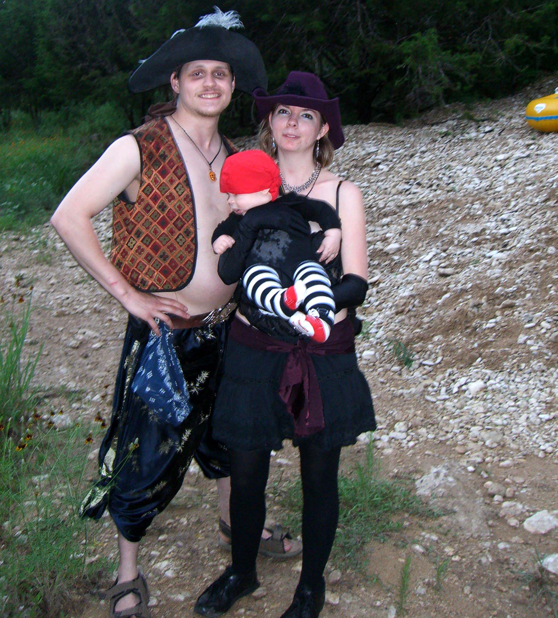 A young family at Burning Flipside 2007