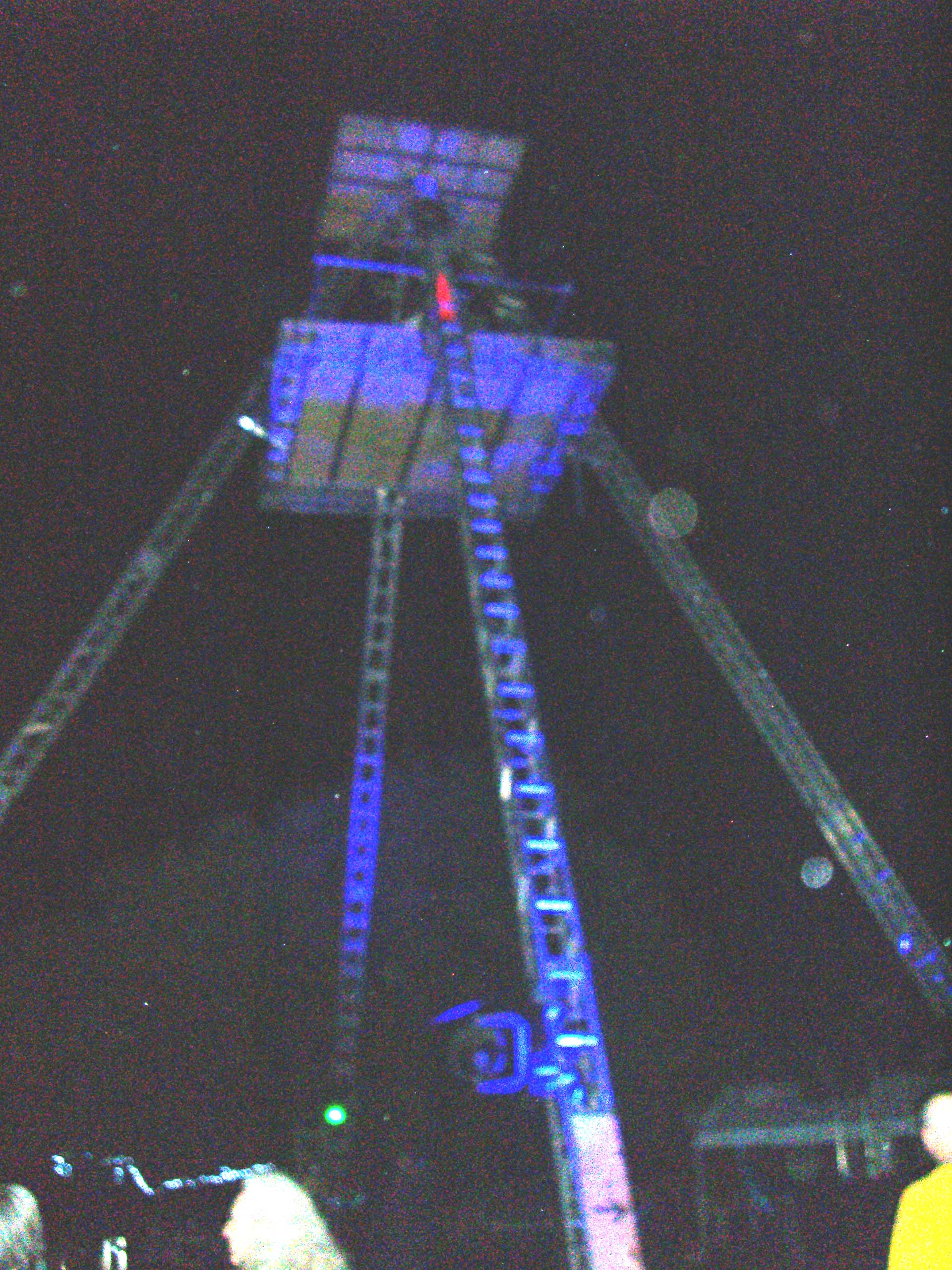 This pyramid must have been the tallest structure at Flipside 2007