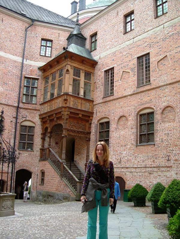 Me in the Gripsholm castle courtyard
