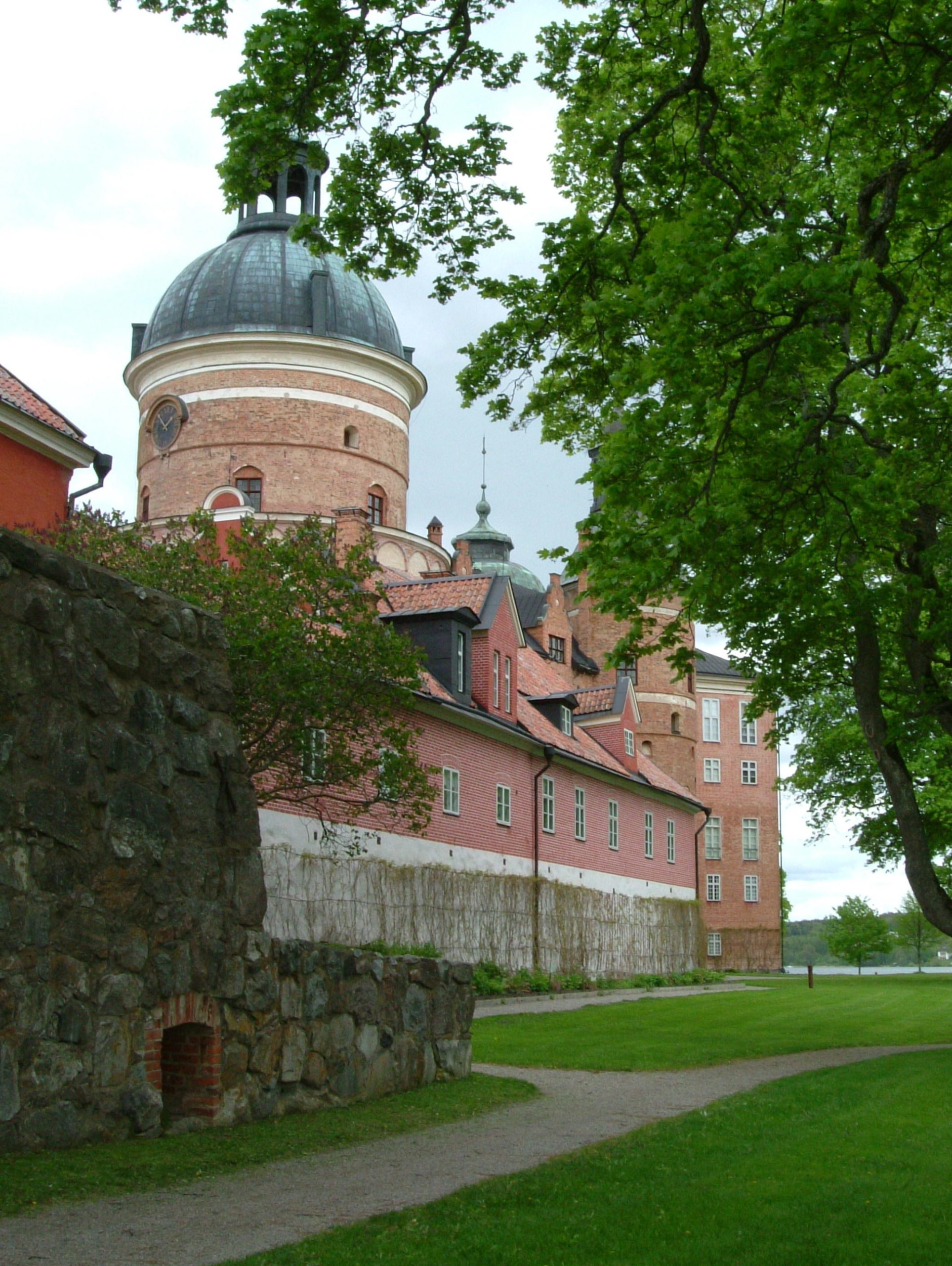 Gripsholm castle from the side